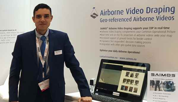 Presentation of the SAIMOS Live Airborne Video Draping
