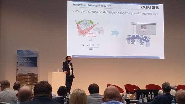 SAIMOS Managed Security auf dem 25. Erste Bank Symposium Sicherheit 2018