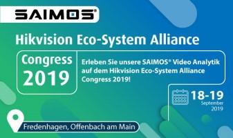 SAIMOS am HikVision Eco-System Alliance Congress
