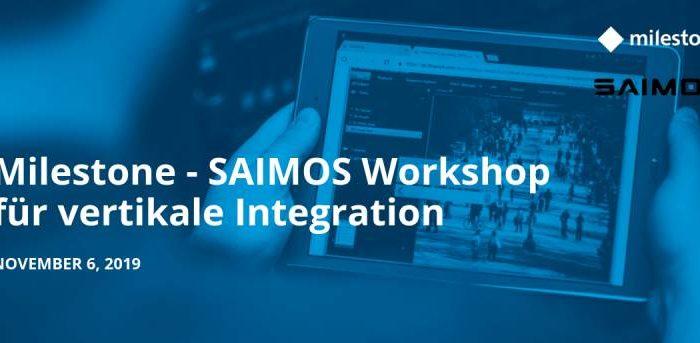 Milestone SAIMOS Seminar München, 06.11.2019